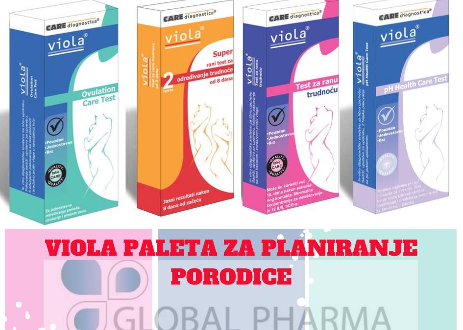 Planiranje porodice uz Viola testove